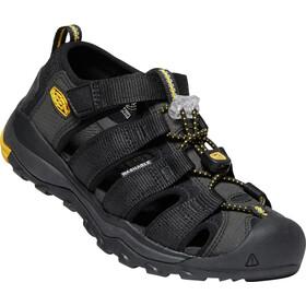 Keen Newport Neo H2 Chaussures Adolescents, black/keen yellow